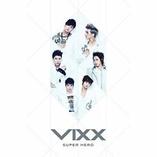 K-POP VIXX 1st Single Album [SUPER HERO] CD + Booklet Sealed Music CD
