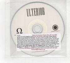 (GV397) Ulterior, Sister Speed - 2009 DJ CD