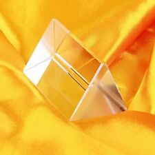Pixnor Unique Precision Physics Teaching Optical Glass Triangular Prism