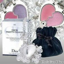 100% AUTHENTIC Exclusive DIOR PRETTY JEWEL CRYSTAL Lipgloss HEART LOCKET CHARM
