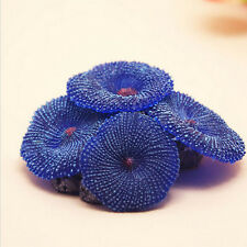 Top Aquarium Artificial Fake soft disc Coral Plant Fish Tank Ornament