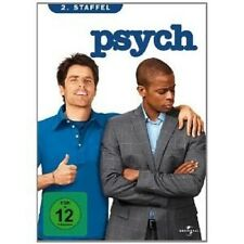 PSYCH - SEASON 2 4 DVD MIT JAMES RODAY NEU