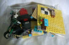 LEGO AND VARIOUS LOCKING BLOCKS AND CONNECTING TOY BAG LOT LINKING TOYS