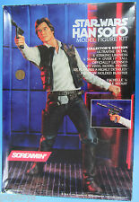 "MODEL KIT '93 vtg Star Wars HAN SOLO Screamin' 1/4 Scale Over 17"" Tall"