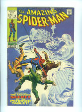 THE AMAZING SPIDERMAN 74 (1969) STAN LEE JOHN ROMITA SILVERMANE MARKO