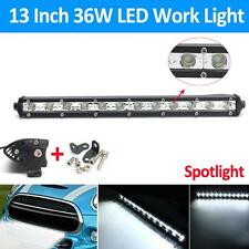 13Inch 36W 16200LM CREE LED Spot Combo Lamp Driving Offroad Work Light Bar