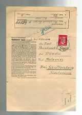 1944 Germany Cover ST George Gusen Mauthausen Concentration Camp Schrottersburg