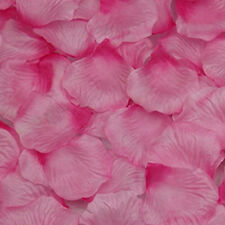 100 Simulation Rose Petals Artificial Flower Wedding Supplies Confetti Color 20