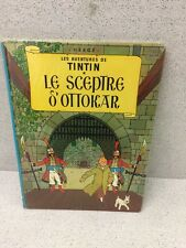 COLLECTION TINTIN HERGE TINTIN LE CEPTRE D'OTTOKAR B39 1970/1971