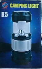 Updated Camping Lantern, Solar Rechargeable LED Camp Light & Handheld Flashlight