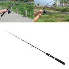 1.2M Portable Fiber Reinforce Plastic Lure Rod Telescopic Fishing Pole Outdoor