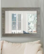 Innova Driftwood Mixed Wood Wall Mirror Bedroom Hall Living room  RRP £135 New