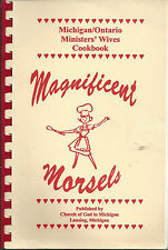*LANSING MI *MAGNIFICENT MORSELS COOK BOOK *CHURCH OF GOD MICHIGAN/ ONTARIO