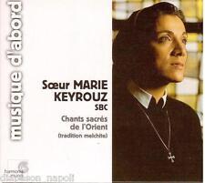 Chants Sacrés De L'orient - Tradition Melchite / Soeur Marie Keyrouz - CD