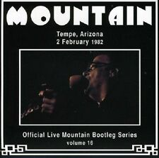 Mountain Live Tempe, Arizona 2nd February 1982 CD NEW SEALED Volume 16