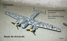 Arado Ar E310.08 Trägerflugzeug   1/72 Bird Models Resinbausatz / resin kit