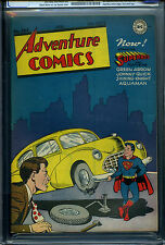 ADVENTURE COMICS #103  - CGC - Superboy, Aquaman begin - High grade!
