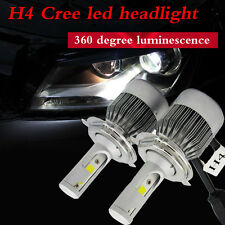 110W 20000LM H4 CREE LED Light Headlight Kit Car Hi/Lo Beam Bulb Kit 6000k 12V