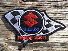 ECUSSON PATCH THERMOCOLLANT aufnaher toppa SUZUKI racing sport rallye automobile