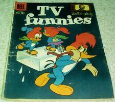 Walter Lantz TV Funnies 264, VG (4.0) 1959 Ice Skating cover! 40% off Guide!