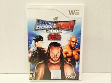 WWE SmackDown vs. Raw 2008 Featuring ECW Nintendo Wii
