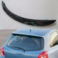 For Toyota Yaris Vitz  06-11 Hatchback Rear Wing Hatch Roof Spoiler Carbon Fiber
