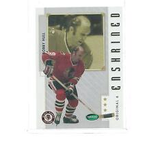 2002-2003 PARKHURST ORIGINAL 6 HOCKEY ENSHRINED BOBBY HULL #86