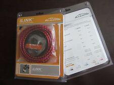 New Alligator I-Link cable set, 5mm, SHIFT GEAR- Red color