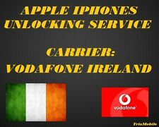 VODAFONE  IRELAND  - IPHONE  6, 6 + , 6S, 6S +, SE -  UNLOCKING SERVICE.