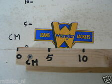 STICKER,DECAL WRANGLER JEANS AND JACKETS
