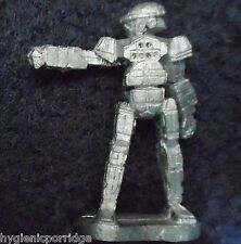 1987 Battletech 20-865 Commando COM-2D Battlemech Ral Partha FASA Mech Warrior