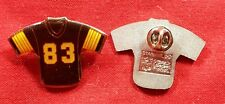 Lot Of 50 Pittsburgh Steelers # 83 Football Jersey NFL Lapel Pin Tie Tac Hat Pin