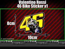 Valentino Rossi 46 bike Sticker X1 Moto GP The Doctor Fumi 46 vale racing car