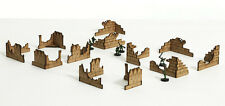 Warhammer 40K Space Marines Imperial Guard Terrain Buildings 12 Ruins