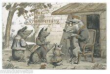 Cochons humanisés . Dressed pigs . Schwein. Cerdo .  豬 . 豚 .