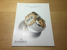 Used - Booklet AUDEMARS PIGUET Ladies Jules Audemars Chronograph - English
