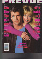 Mediascene Prevue 79 April 1990 Traci Lords Mel Gibson Goldie Hawn Jane Fonda