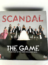 Scandal Trivia Board Game Based On The TV Show ABC Sealed