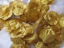 1000  GOLD  WEDDING  ARTIFICIAL  SILK  ROSE PETALS WEDDING