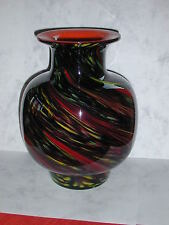 Kamei Studios Cased Art Glass Vase Stunning!!  With Label, numbered 85122