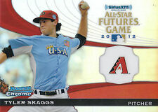 2012 BOWMAN CHROME ALL-STAR FUTURES GAME TYLER SKAGGS DIAMONDBACKS *12444