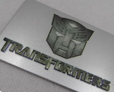 Car Trunk Transformers Autobot Carton Badge Emblem Tailgate Sticker Metal  Badge