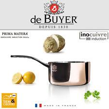 De Buyer-cobre stielkasserole 14 cm-prima Matera