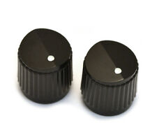 PK-3255-023 (2) Black Bevel Top Knobs for Guitar or Bass Steinberger Style