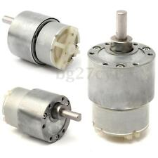 12V DC - HIGH TORQUE High power - Reversable Electric Motor 15 RPM & Gear-Box