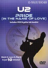 10 minuti insegnante U2 di orgoglio per il nome dell' amore di imparare a giocare scheda CHITARRA DVD
