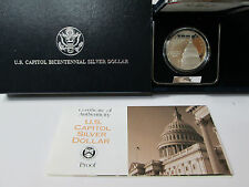 1994 US Capitol Bicentennial Proof Silver Dollar Commemorative Coin