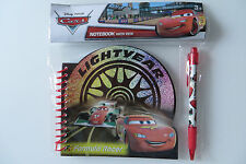 DISNEY NOTIZBLOCK STIFT CARS, Comic Auto LIGHTYEAR, L 15 c m, Kugelschreiber Pen
