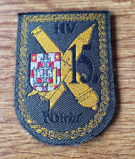 CROATIA ARMY  15 Anti-Tank Artillery and Rocket Brigade - Krizevci, sleeve patch