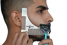 Beard Shaper Trimmer Styling Template Guide For Beard Grooming For Any Style -